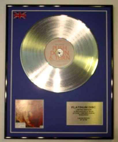 Eminem/ltd Edition CD Platinum Disc/relapse