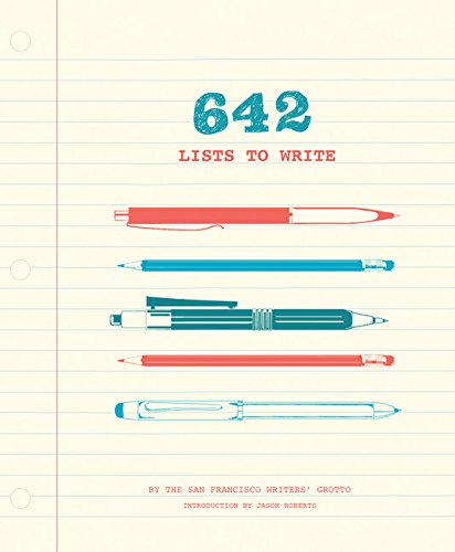 642 Lists to Write: (Creative Writing Prompts for Adults, Guided Journal Gift for Writers)