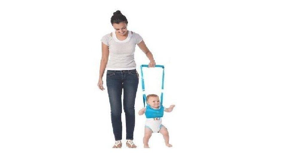 King's Deal (Tm) Handheld Baby Walker Toddler Walking Helper Kid Safe Walking Protective Belt Child Harnesses Learning Assistant (Blue) king' s deal