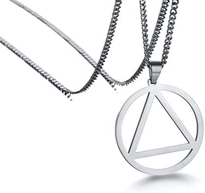 Stainless Steel Minimal Pendant Necklace