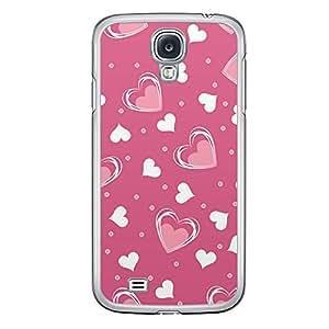 Loud Universe Samsung Galaxy S4 Love Valentine Printing Files A Valentine 120 Printed Transparent Edge Case - Pink