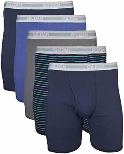 Gildan Men's Regular Leg Boxer Brief Multipack