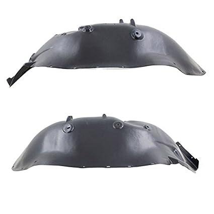 07-13 Sierra 1500 Front Splash Shield Inner Fender Liner Left /& Right SET PAIR