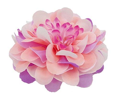 Coral Flowers Brooch - 8