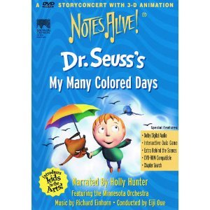 DR SEUSS MY MANY COLORED DAYS EPUB
