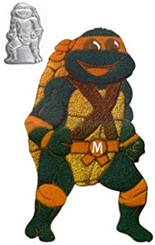Wilton Cake Pan Teenage Mutant Ninja Turtles 2105-3075, 1989