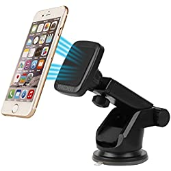Yongcheng Magnetic Car Mount , Scalable Long Arm Universal Smart Phone Dashboard & Windshield Car phone Holder For iPad iPhone 7 7Plus SE 6s 6 Plus 5s 5 Samsung Tablet Galaxy S7 Edge S6 S5 S4 Note HTC