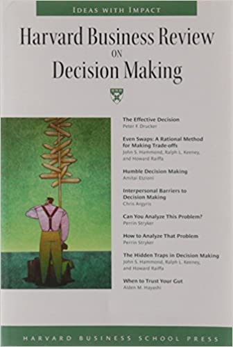 Harvard business review on decision making harvard business harvard business review on decision making malvernweather Gallery