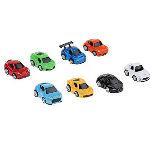 perfk 全2種類 ベビー 車 玩具 ミニカー プルバック車 ボーイズ おもちゃ 可愛い - 2