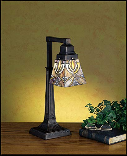 Meyda Tiffany 27636 One Light Table Lamp, 20