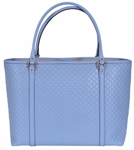 8d4e676e6c5 Amazon.com  Gucci Women s Leather Micro GG Guccissima Joy Purse Handbag Tote  (449647 Mineral Blue)  Shoes