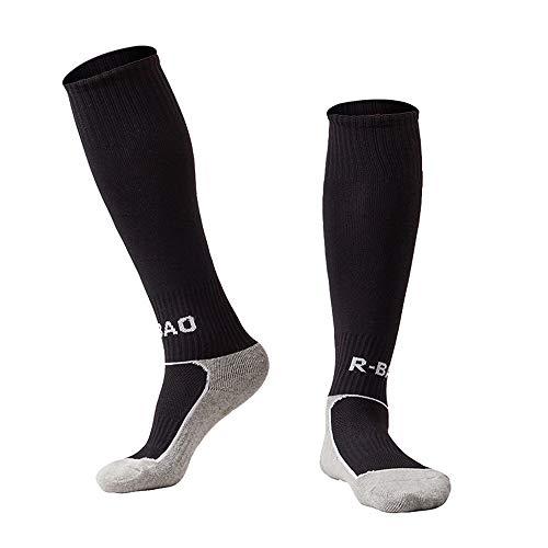 Sports Socks Women Lucky Commerce Teens Youth Long Athletic Football Soccer Socks Tube Socks 10 Pairs Red