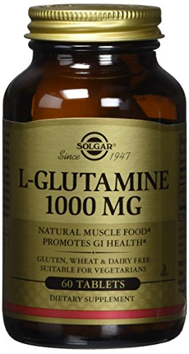 Solgar L Glutamine Tablets 1000 Count product image