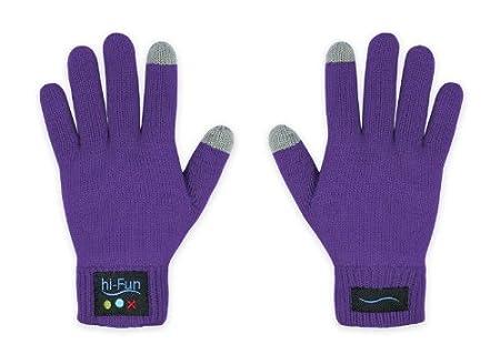 HIFUN 13300 hi-Call Frau grau Handschuhe Bekleidung