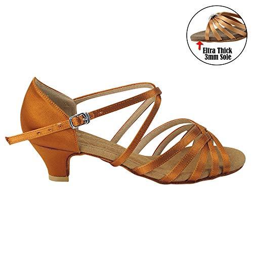 50 Shades of TAN Dance Shoes for Women 1 Latin Ballroom Salsa Clubing Wedding