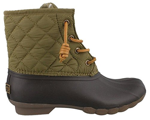Sperry Saltwater Rope, Botas de Lluvia para Mujer Brown Mix