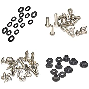 and Hardware Fasteners Standard Motorcycle Fairing Bolt Kit For Honda CBR600F4i 2001-2003 Body Screws
