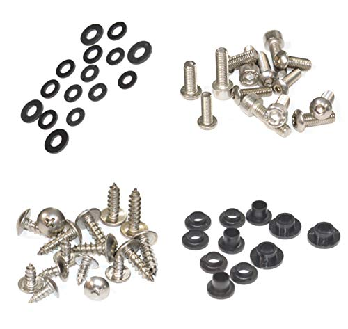 Standard Motorcycle Fairing Bolt Kit For Honda CBR600F3 1997-1998 Body Screws, Fasteners, and Hardware