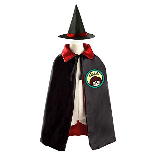 Daria Halloween Wizard Witch Kids Cape With Hat Party Christmas Costume (Daria Costume Halloween)