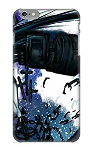 High Quality Pirntalonzi Anime Black Rock Shooter Skin Case Cover Specially Designed For HTC One M8