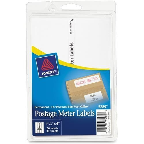 AVE5289 - Postage Meter Labels for Personal Post Office E700