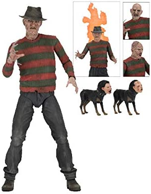 A NIGHTMARE ON ELM STREET- Figura de acción, Multicolor (NECA 39899)