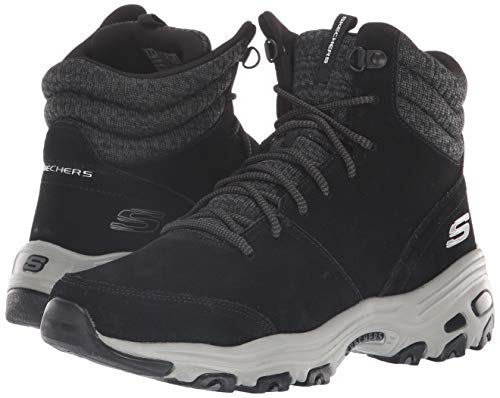 Chaussures Chill D´lites 49727 Noir Bottes Skechers Flurry BwHxw