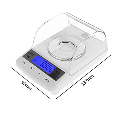 f4783f35e16e Amazon.com: Sala-Ctr - Digital Milligram Scale 50g/0.001g Balance ...