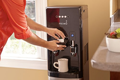 hTRIO Hot & Cold Water Dispenser and Single Serve Coffee Brewer by Primo (Image #1)