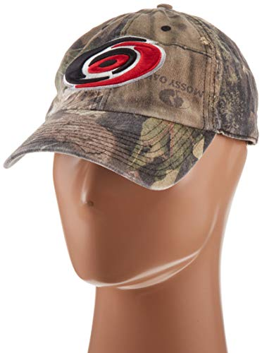 OTS Adult Men's NHL Challenger Adjustable Hat, Mossy Oak, One Size