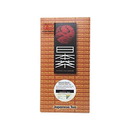(Nippon Cha - Satuma Koucha - Premium Japanese Black Tea - JAS Certified Organic - Healthy Antioxidants - Delicious Hot or Cold - 50g Loose Tea)