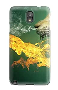 Hot Durable Case For The Galaxy Note 3- Eco-friendly Retail Packaging(k Wallpapers Animal)