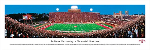 Indiana Football - Blakeway Panoramas Unframed College Sports