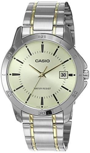 Casio Enticer Men Analog Gold Dial Men's Watch MTP-V004SG-9AUDF(A1099)