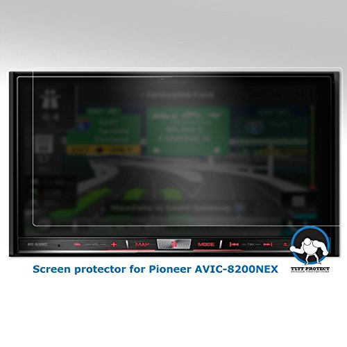 Tuff Protect Anti-glare Screen Protectors Pioneer AVIC-8200nex Car-Indash Player by Tuff Protect Screen Protectors