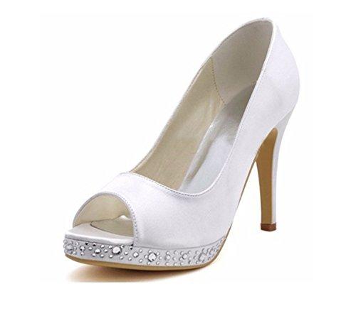 10cm Beige Pour MinitooUK EU Minitoo Femme 5 36 Ivory Heel MZ8240 Sandales FqXUwwxa70
