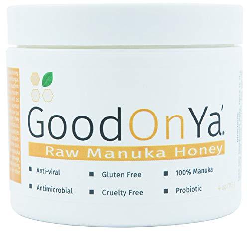 Raw Manuka Honey UMF 12+ - Hydrating Face Mask - Raw Honey, Organic & Unfiltered - Medical Grade Manuka Honey From New Zealand - Acne, Melasma, Eczema & Psoriasis Relief - Dry Skin Treatment (4 oz)