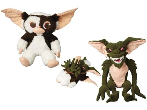 Amazon Com Gremlins Changeable 8 25 Plush Doll Gizmo To Gremlin