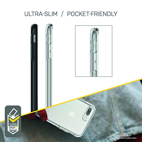 OtterBox SYMMETRY CLEAR SERIES Case for iPhone 8 Plus & iPhone 7 Plus (ONLY) - CLEAR by OtterBox (Image #6)