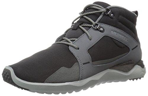 Merrell Zapatos de los hombres de mediana 1SIX8 Negro Negro