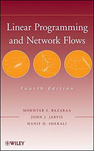 Linear Programming+Network Flows