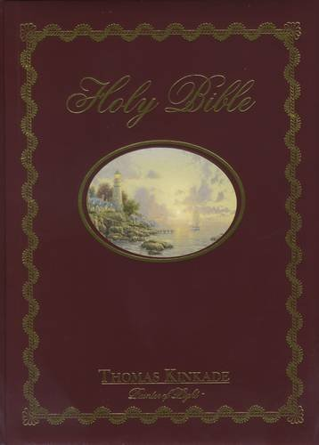 HOLY BIBLE, Thomas Kinkade; Painter of Light, New King James Version, Red Letter Edition (Family Reference Edition)