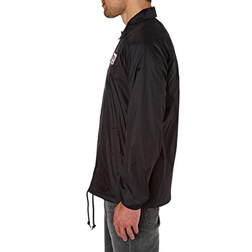 Flip Jacket Black Side Coach Nero Etnies UCd4qwq