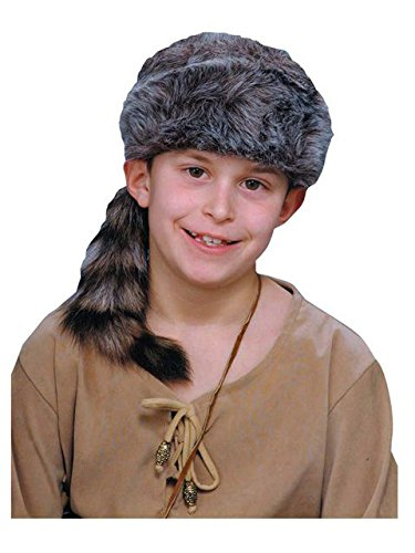Coonskin Cap Kids Hat (Racoon Tail Hats)