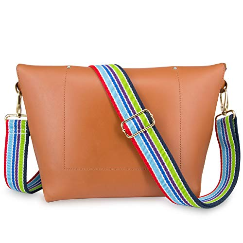 Wolven Adjustable Purse Strap Replacement Crossbody Shoulder Strap For Handbag Laptop Bag Etc - Style 3