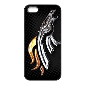 DIY Denver Broncos Custom Case Cover s for iPhone 5/5s TPU Laser Technology by runtopwell