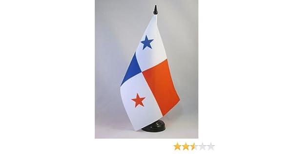 AZ FLAG Bandera de Mesa de PANAMÁ 21x14cm - BANDERINA de DESPACHO PANAMEÑA 14 x 21 cm: Amazon.es: Hogar