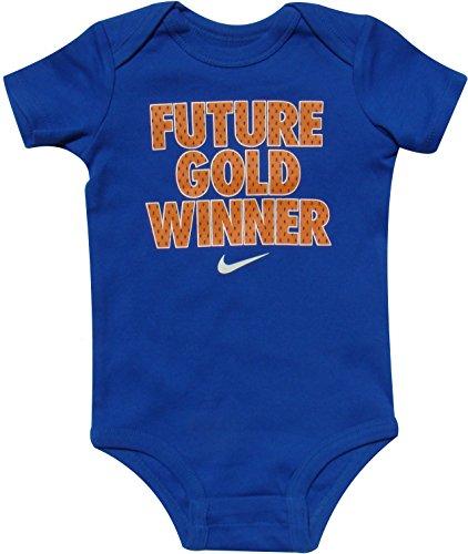 Nike Infant Bodysuits Future Gold Winner 3/6M Set of 3