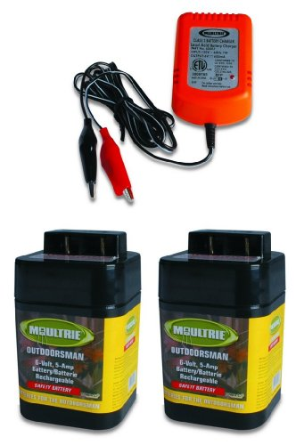 MOULTRIE Rechargeable Batteries Battery Charger product image
