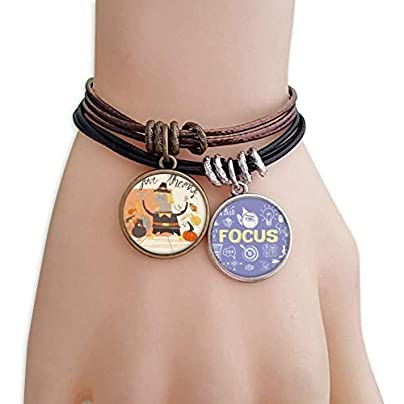 master DIY Thanksgiving Day Cartoon Man Pattern Bracelet Rope Wristband Force Handcrafted Jewelry Estimated Price -